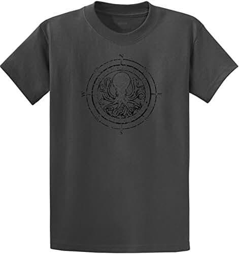 Koloa Surf Octopus Logo Mens Heavy Cotton T-Shirts in Regular, Big & Tall
