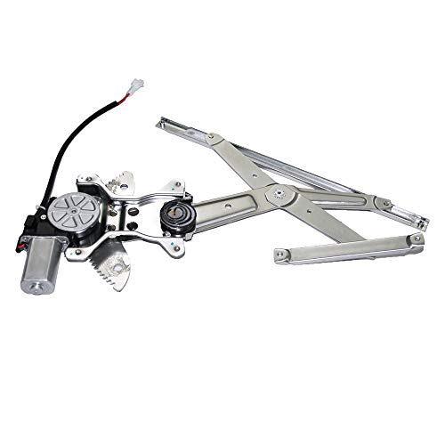 - 741-801 Front Left Driver Side Replacement Power Window Regulator with Motor Assembly for 1998 1999 2000 2001 2002 Toyota Corolla