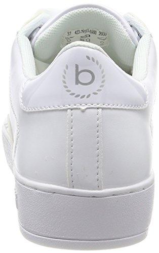 Damen Weiß Bugatti 422291035900 2000 Sneaker White 1WA6q7gHA