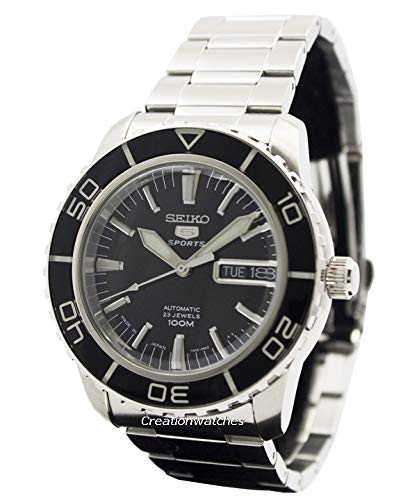 Seiko 5 SPORTS Automatic MADE IN JAPAN waterproof 330 feet Watch [SNZH55J1] ()