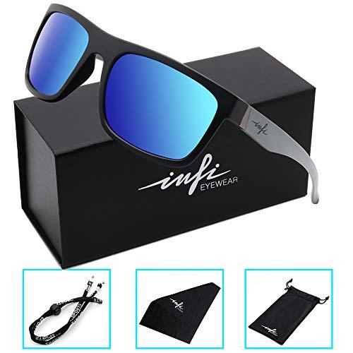 5eba92013ed Polarized Fishing Sunglasses for Men and Women Wayfarer