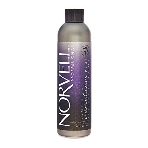 Norvell Premium Sunless Tanning Solution - Venetian Plus, 8 fl.oz. (Best Organic Spray Tan Solution)