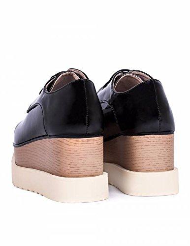 Zapato Plataforma Zapato Plataforma Cordón TrTBwqp