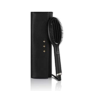 GHD – Coffret Glide – Brosse Lissante (Noir) + Pochette Thermorésistante
