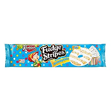 Amazon Keebler Fudge Stripes Birthday Cake Flavor Cookies 115oz Grocery Gourmet Food
