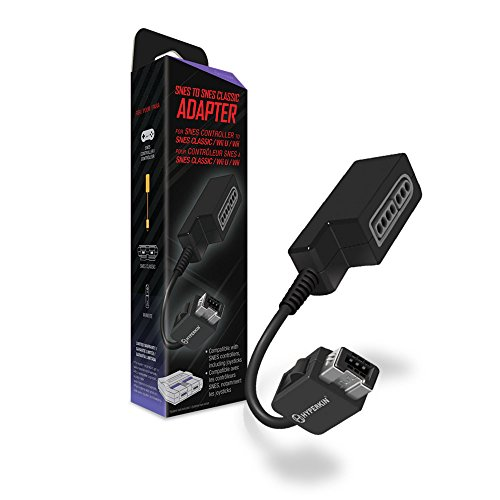 Hyperkin Controller Adapter for SNES to SNES Classic Edition/ Wii U/ Wii