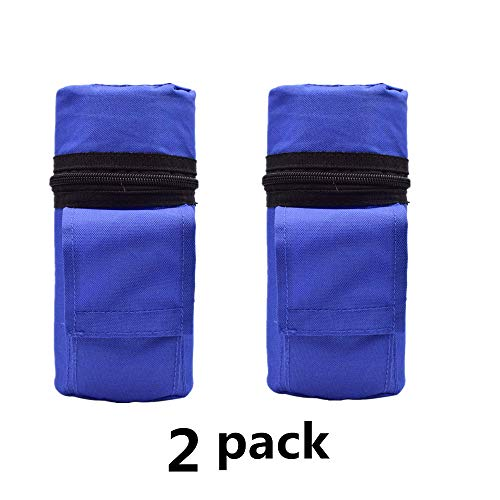2 Pack Insulin Protector Case Insulin Cooler New Portable Insulin Cooler Bag Insulated Diabetic Insulin Travel Case Cooler Box Bolsa Termica ice Box ice Bag (Blue+Blue)