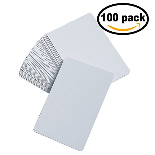 DOER DIY Blank Playing Cards Set- Reusable- For