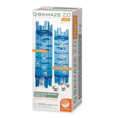 Q-BA-MAZE 2.0 Cascading Marble Refill Set from MindWare