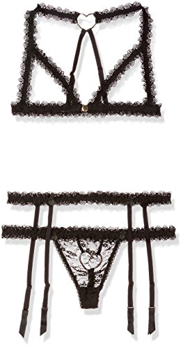 Mimi-Holliday-Womens-Mignonette-Naked-Triangle-Bra-Skinny-Thong-and-Suspender-Set