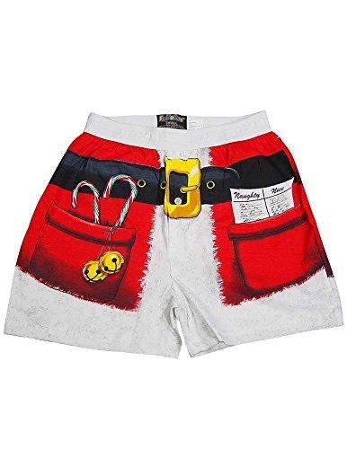Fun Boxers Mens Santa Shorts Boxer product image
