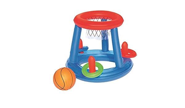 Yue668 - Canasta Hinchable de Baloncesto, Juguete Interactivo para ...
