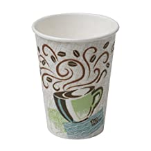 PerfecTouch 5342CD Insulated Paper Hot Cup, New Coffee Design, 12 oz Capacity (Case of 1000 Cups)