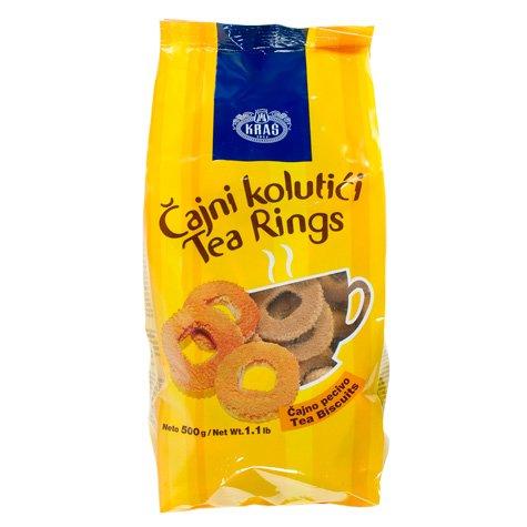 Cajni Kolutici Tea Rings 500g (Tea Ring Cookies)