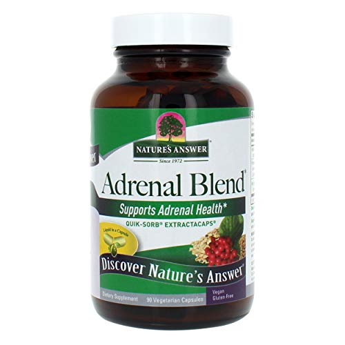 - Nature's Answer Extracaps Adrenal Stress Away Vegetarian Capsules, 90-Count