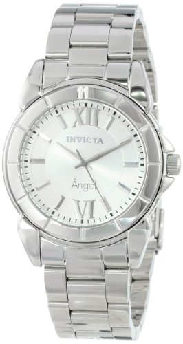 Invicta Women's 0457 Angel Collection Rhodium-Plated Stainless Steel Watch