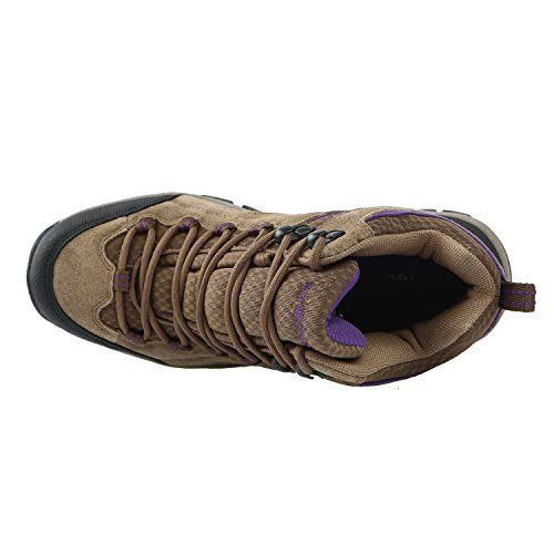 Pictures of Northside Womens Pioneer Mid Rise Leather Hiking 2