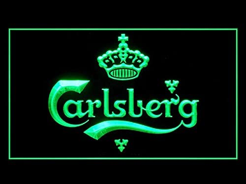 bar 2 Sizes Available ideal for pub Man Cave larger Carlsberg METAL BEER SIGN