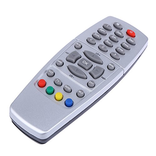 Raza Universal Fashion 2AA Battery Silver Replacement Remote Controller for DreamBox DM500 S/C/T DVB 2011 Version Top Quality