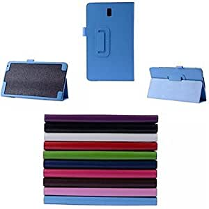 DUR PU Leather Case with Stand for Samsung Galaxy Tab S 8.4 T700(Assorted Colors) , Light Blue