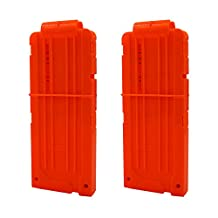 EKIND Soft Bullet Quick Reload Clips 12 Darts Clips for Nerf N-strike Elite Magazine Toy Gun (Pack of 2)