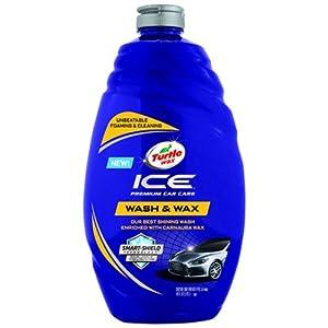 Turtle Wax T-472R ICE Car Wash and Microfiber Cloths Bundle