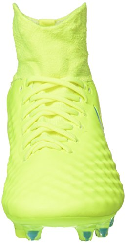 Football Magista De Volt barely Jaune Femme Blue Chaussures Fg Orden Ii chlorine Nike white volt xgYdwqBSq