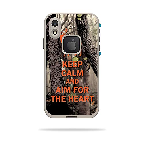 MightySkins Skin for LifeProof FRE iPhone XR Case - Deer Hunter | Protective, Durable, and Unique Vinyl Decal wrap Cover | Easy to Apply, Remove, and Change Styles | Made in The USA ()