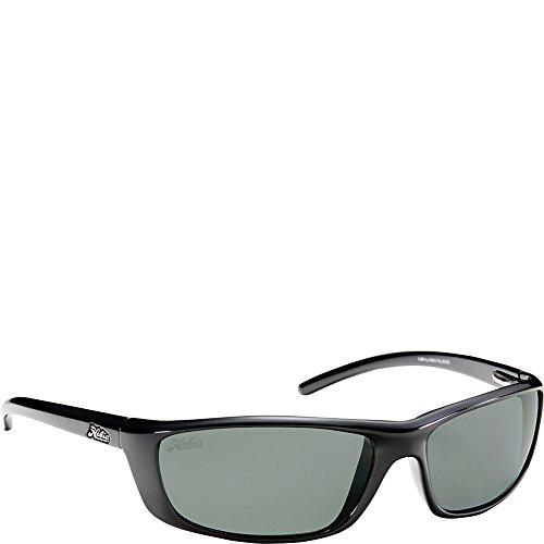 Hobie Cabo Polarized Sport Sunglasses,Shiny Black Frame/Grey Lens,one - Hobie Polarized