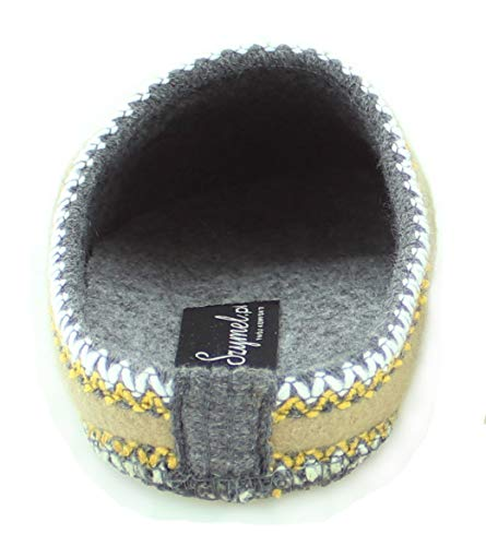 en Main 36 Karamell Novelty Szymel Qualité Confort 46 feutre Mit Tailles prix femmes pour Bon Blume Design Eu Pantoufles f6d0qf