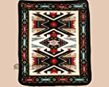 Mission Del Rey Luxury Plush Southwest Design Blanket 79''x92''
