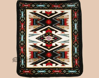 Mission Del Rey Luxury Plush Southwest Design Blanket 79''x92'' by Mission Del Rey
