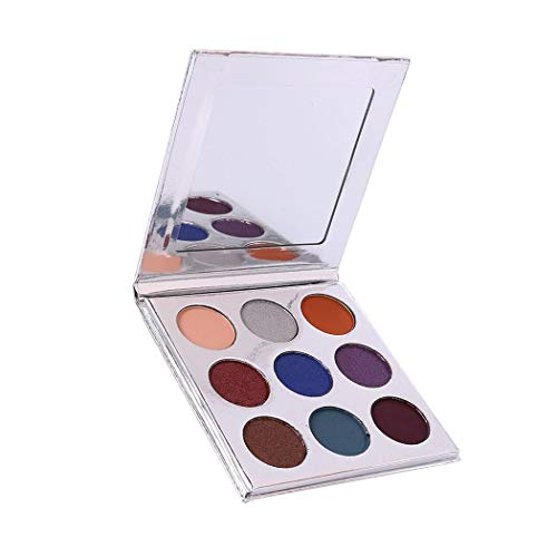 Xixou Eyeshadow Palette Makeup Matte Shimmer 9 Colors High Pigmented Cosmetic Eye Shadows