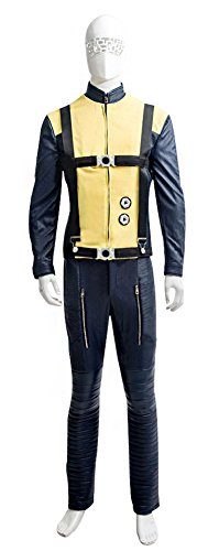 X Magneto First Men Class Costume (Mtxc Men's X-Men: First Class Cosplay Costume Magneto Full Set Size XX-Small)
