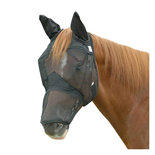 Bridle Ear (Cashel Quiet Ride Fly Mask with Ears and Long Nose - Size: Horse)