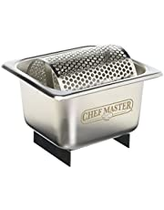 Chef-Master 90021 Stainless Steel Butter Spreader Silver