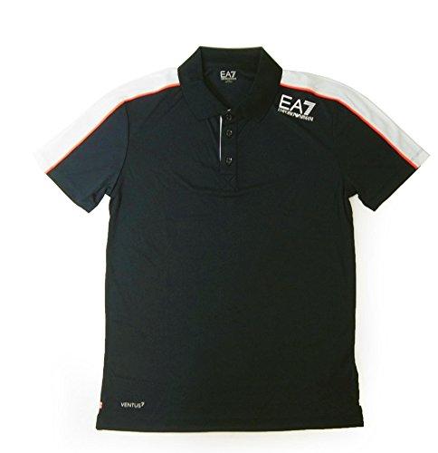識別するブランデーたくさん[アルマーニ] ポロシャツ 黒に近いブルー メンズ ゴルフ エンポリオアルマーニ EA7 A-2511 [並行輸入品]
