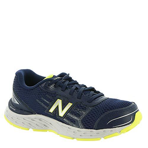 New Balance Boys' 680v5 Running Shoe, Pigment, 12 M US Little - Shoes Kids 12