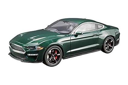 2019 Ford Mustang Bullitt Dark Highland Green 1 18 Model Car By Gt Spirit For Acme Us017