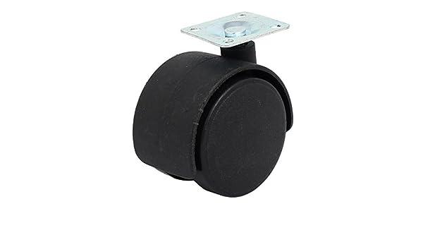 eDealMax 2 pulgadas de diámetro Superior giratoria Doble placa de la rueda giratoria Para Muebles Silla de oficina: Amazon.com: Industrial & Scientific