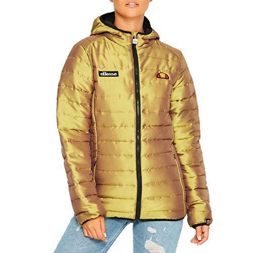 ellesse Women Winter Jacket Lexus Padded Jacket, Size:L, Color:Gold