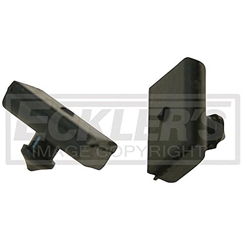 Eckler's Premier Quality Products 55192993 El Camino Tailgate Bumpers In Gate Latches