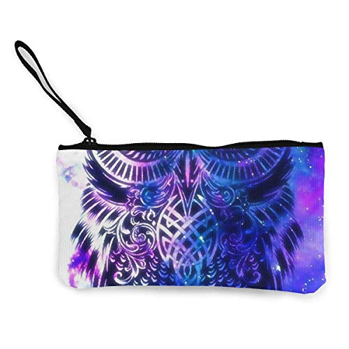 For Blue Fregrthtg Wallets And Pattern Print 3d Canvas Purse Owl Towels Unisex Men Women Coin pqwq1P