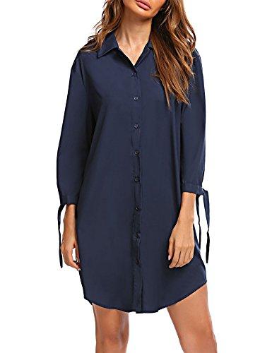 plus size blue jean dress - 5
