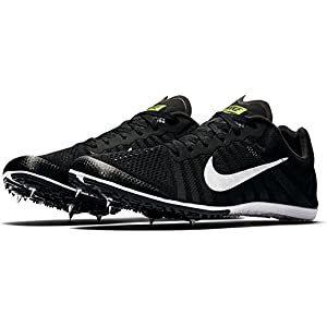 Nike Men's Zoom D Track and Field Shoes(Black/White, 7 D(M) US)