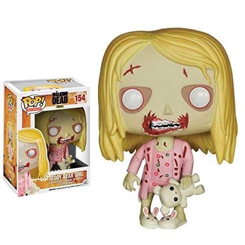 Funko POP TV: Walking Dead - Teddy Bear Girl Toy Figure]()