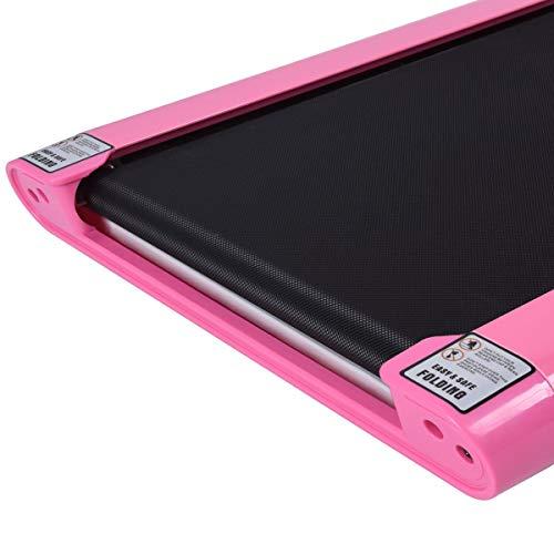 Goplus 1.5HP Electric Folding Treadmill Portable Motorized Running Machine Home Gym Cardio Fitness w/App (Pink) by Goplus (Image #7)