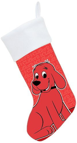 PBS KIDS Clifford The Big Red Dog Christmas Stocking