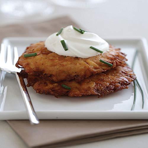 Linda's Gourmet Latkes, 24 Large Handmade Potato Pancakes, Original Potato, 24.7 ()