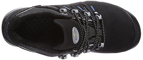 Wortec Manolo S1p - Calzado de protección Unisex adulto Negro/Gris/Azul
